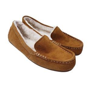 Ugg Koolaburra Chestnut Lezly Loafer Slippers 8